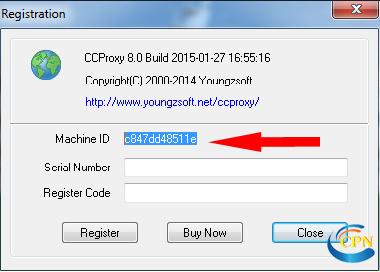 Tạo máy chủ cấp phát proxy bằng CCproxy | Việt Game - NET